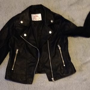 Faux leather Justice jacket